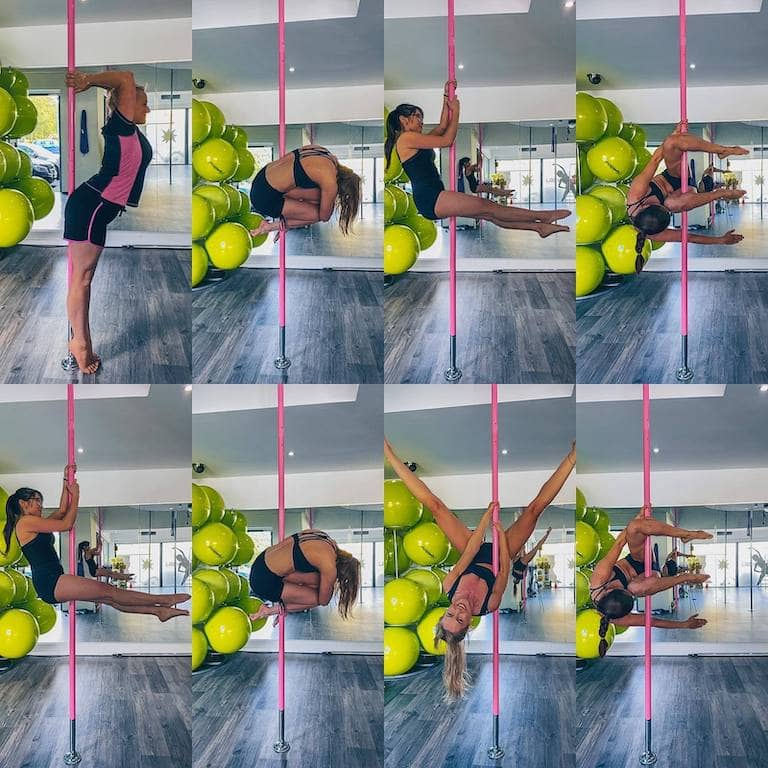 Background Pole-dance