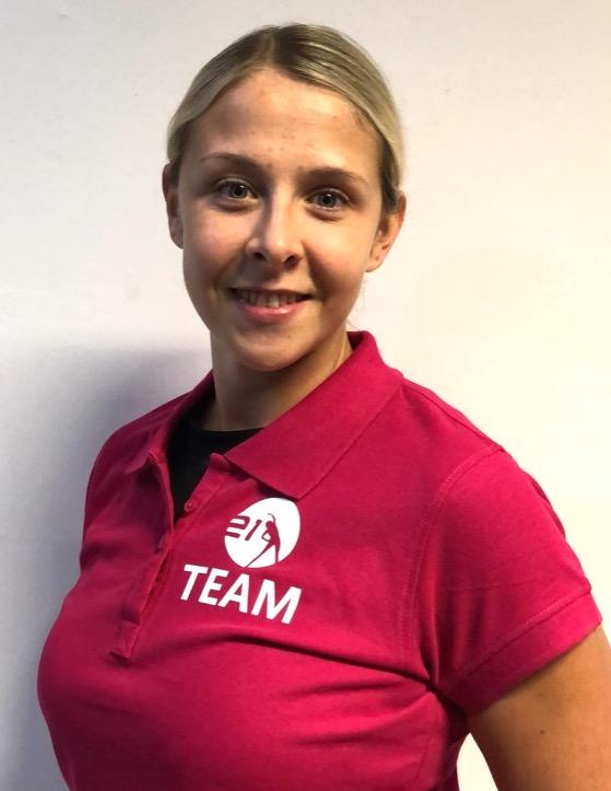 Fitnesstrainerin Kristin