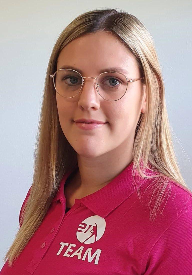 Fitnesstrainerin Janina